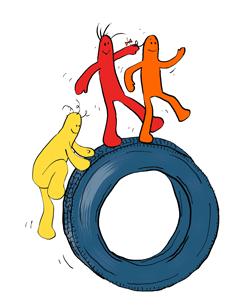 Jeu pneu
